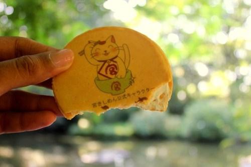 Maneki-neko crackers