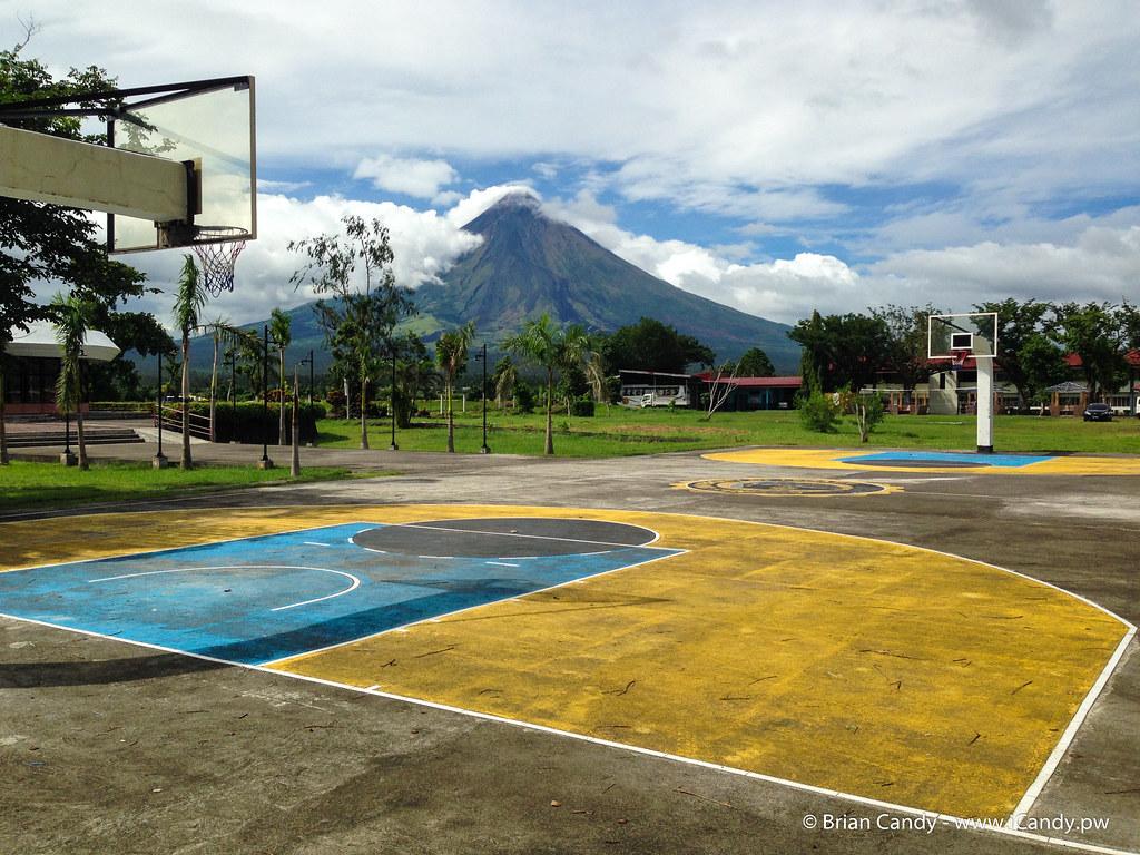 Mayon from Aquinas University