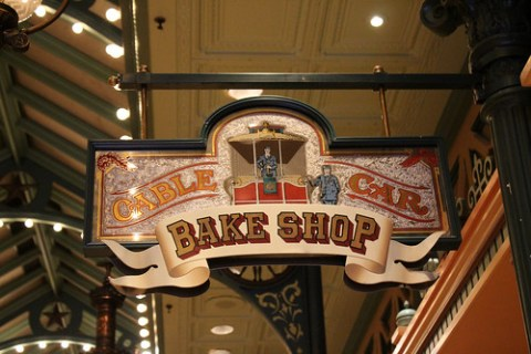Cable Car Bake Shop sign