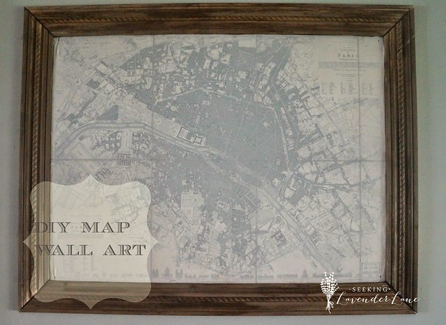 Map w logo