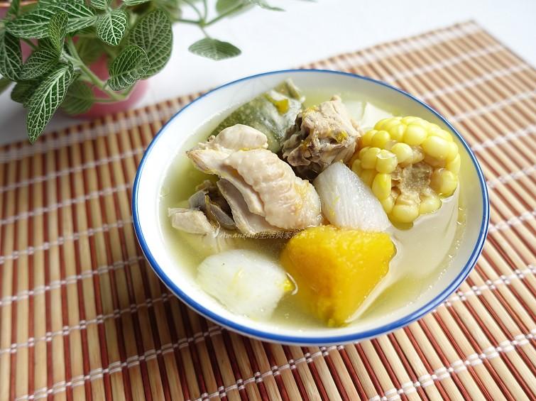 養生雞湯-山藥南瓜雞湯 養生山藥南瓜雞湯
