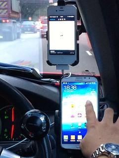 Singapore taxi Uber