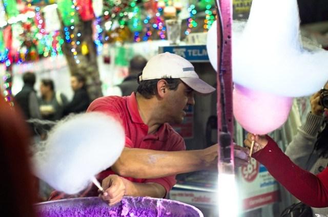Cotton candy sombrero figure