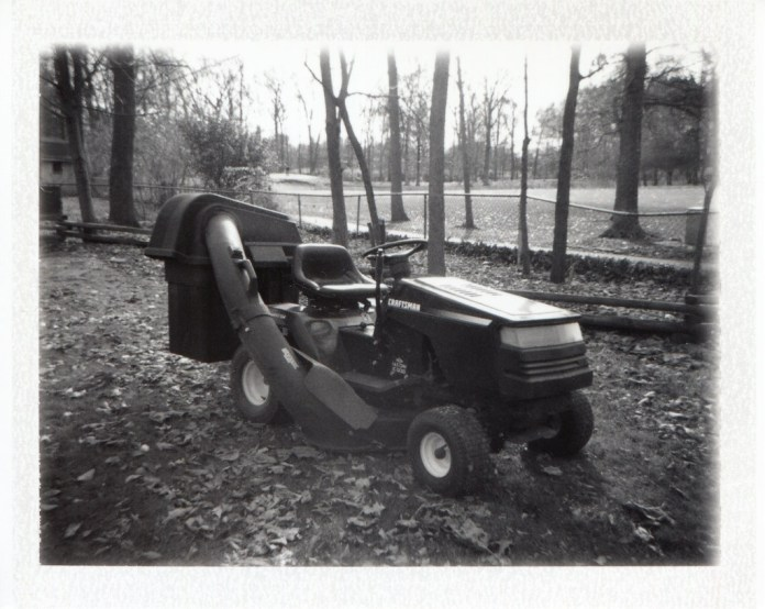 Tractor and Bagging Attachment