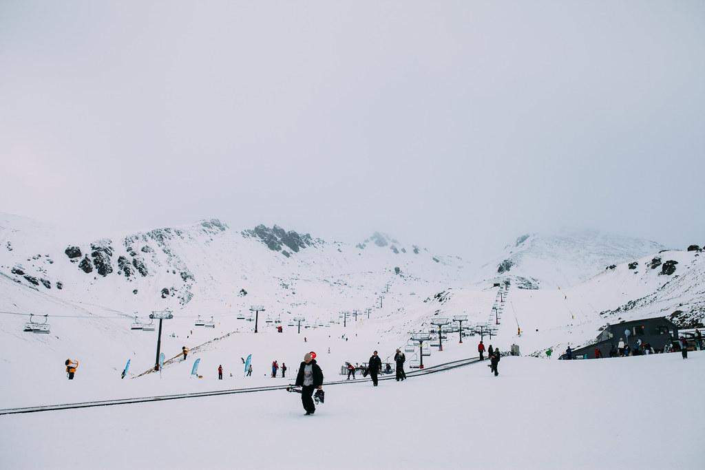 The Remarkables Ski Area, Otago, New Zealand