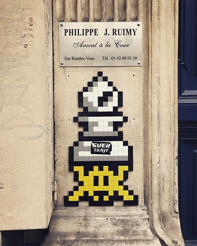 PA_1230 #spaceinvader #invader #paris #streetart