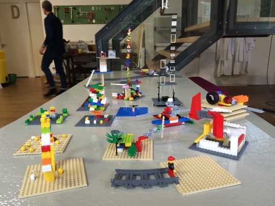 ASEM Playful Cities workshop LEGO creations