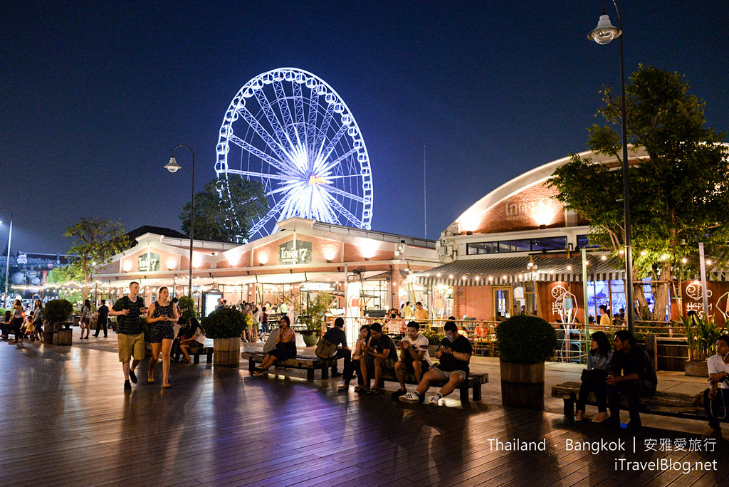 《曼谷夜市集景》河滨码头夜市:超人气夜市导览与交通攻略