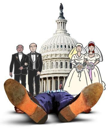 DC Legalizes Gay Marriage; Oral Roberts Drops Dead