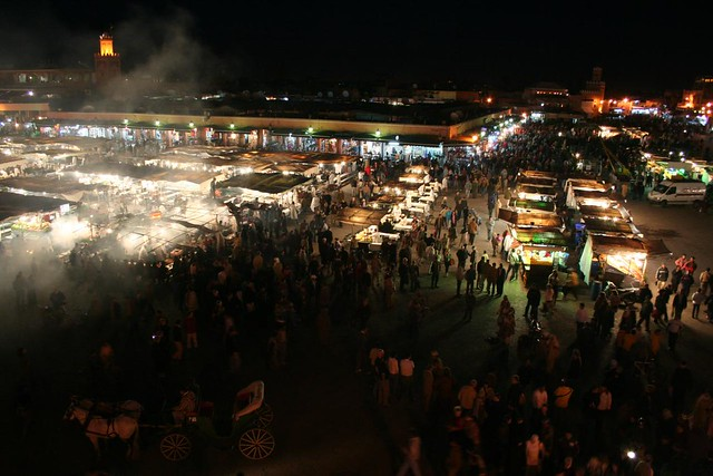 Photo de la Place Jamaa el Fna à Marrakech