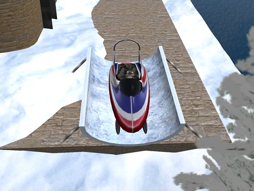 A Tahoa Mountain Resort Bobsled