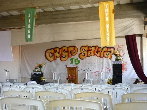 Sanctuary prepared for the 15th Anniversary Party