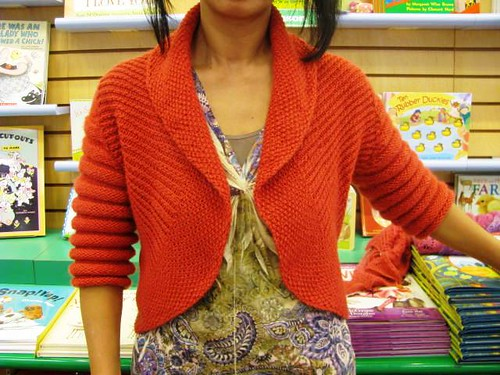 Textured Knit Front Close Up