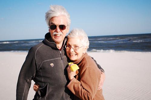 Windswept parents.
