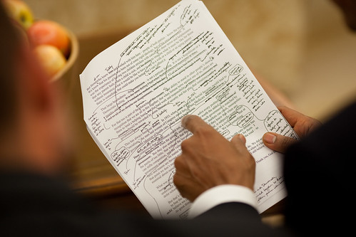 Obama Health Care Speech in Revision Process