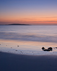 "Dusk at Berneray looking towards Bororay V • <a style=""font-size:0.8em;"" href=""http://www.flickr.com/photos/26440756@N06/4518804071/"" target=""_blank"">View on Flickr</a>"