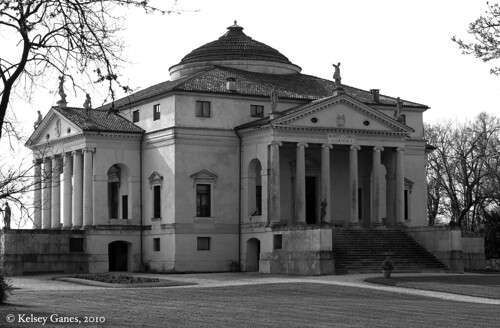 Villa Capra, La Rotonda, Villa La Rotonda, villa Italy Italia Vicenza