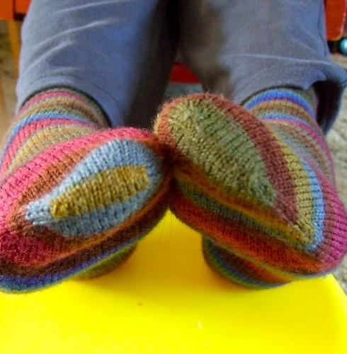 Sean's Socks - toes