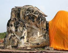 Reclining Buddha, Burma. © John Aske