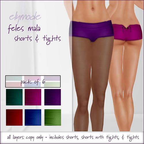 *elymode* feles mala shorts