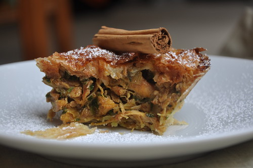 Moroccan-Style Chicken Pie (B'stilla)