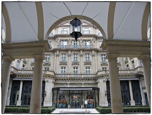 The world-famous Steigenberger Hotel Frankfurt...