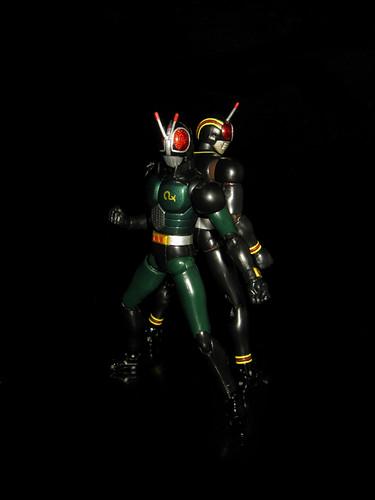 S.H.Figuarts Kamen Rider Black & Black RX
