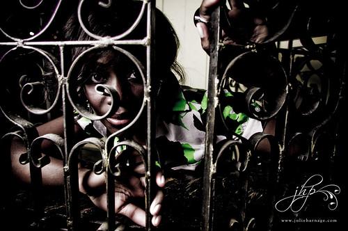 irene. caged