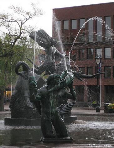 Europa och tjuren, Halmstad, by Tina Håkansson