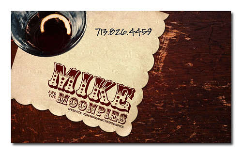 Mike & The Moonpies Business Card