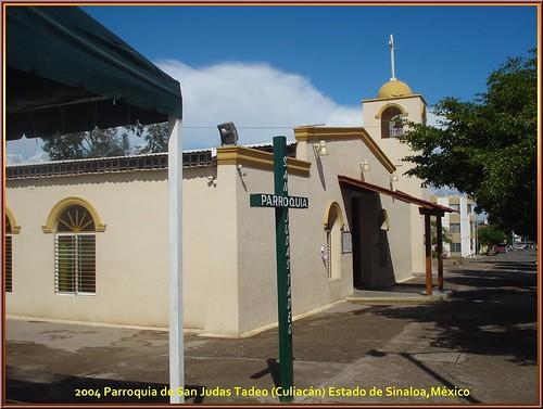 Parroquia de San Judas Tadeo (Culiacán) Estado de Sinaloa,México