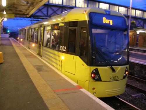 3002 Flexity Swift Metrolink tram