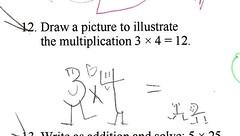 illustrated math problem