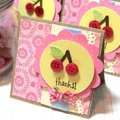 cherry thank you notes