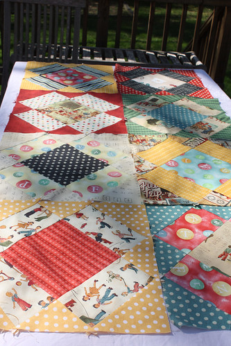 A Quilt For Heather In Progress