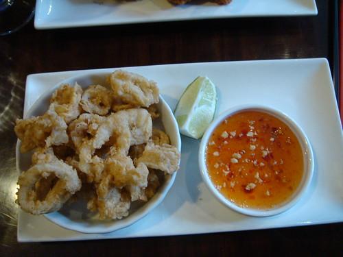 Thailand Cafe - Crispy Calamari