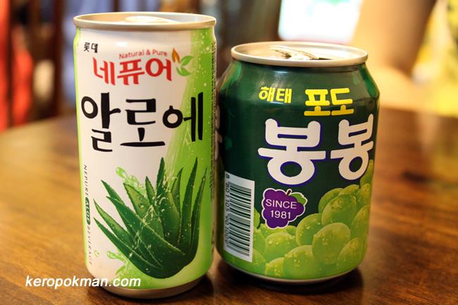Korean Can Drinks