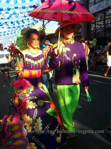 Man and Woman in Filipiniana - Pahiyas Festival