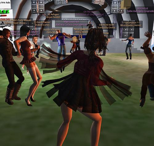 Inworldz MusicFest Oct 2010