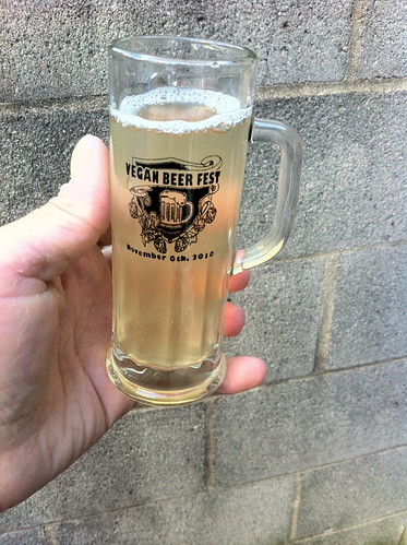 Vegan Beer Fest Glass