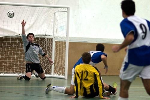 Futsal 1sts vs Manchester - 6.12.09 - Photo: Jason Lozier
