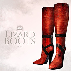 Casa Del Shai - Lizard Boots