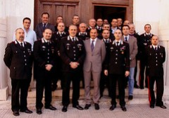Il sindaco di Ragusa in visita al Comando provinciale dei Carabinieri
