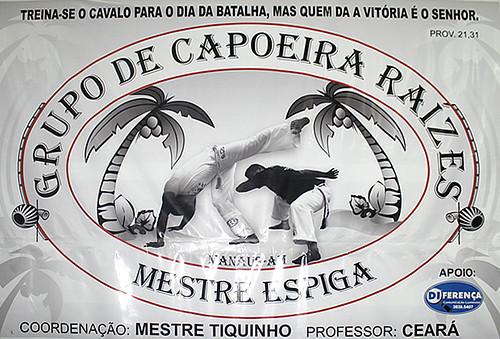 Capoeira Raízes 29 por você.