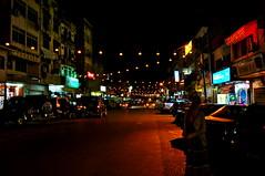 Gua Musang by night