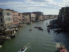 """""""Panorama desde el puente"""" (Venecia)"""