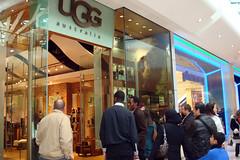 UGG Store at Westfield, Shepherd's Bush, London