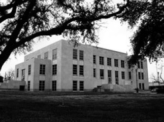 Chambers County Courthouse, Anahuac, Texas 031...