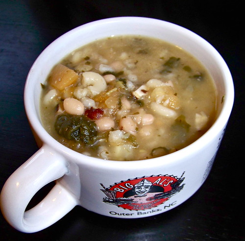 Garbage Soup with Squash, Spinach, Beans and Barley – Ali ...