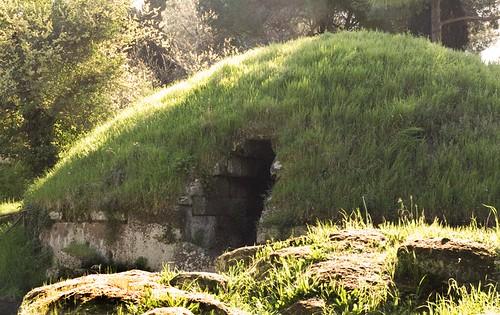 Necropolis, cemetery, tombs, Etruscan, Ceveteri, tumulus, tumuli